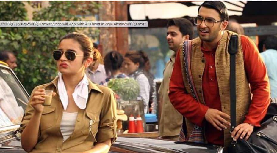 First look out! Ranveer Singh, Alia Bhatt go de-glam for 'Gully Boy'