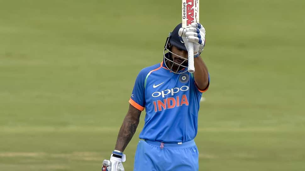 Shikhar Dhawan first Indian to score a century in 100th ODI