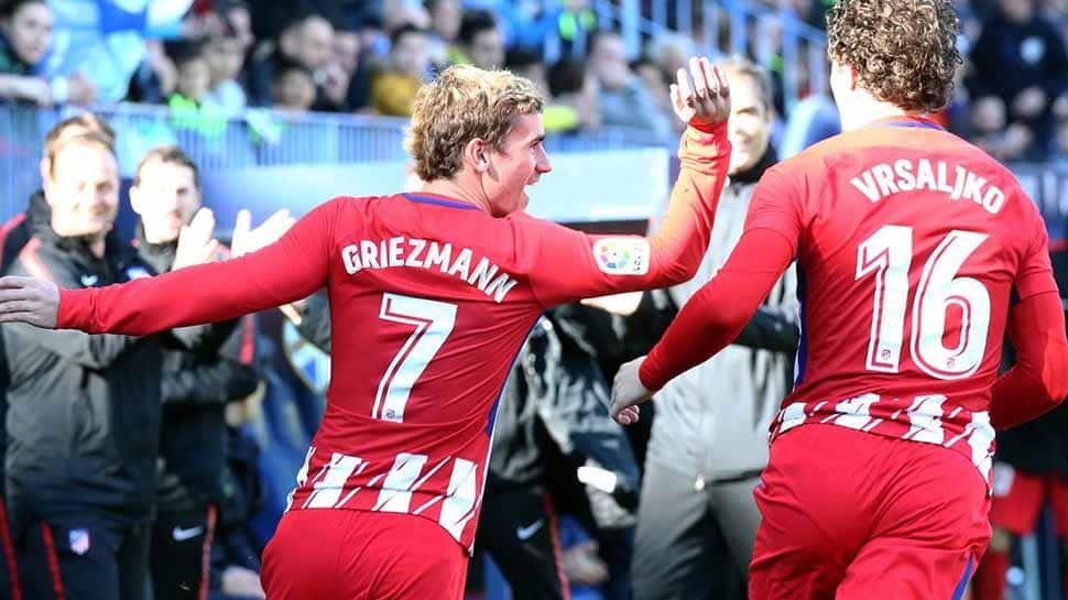 La Liga: Antoine Griezmann's early strike helps Atletico Madrid keep pressure on Barcelona