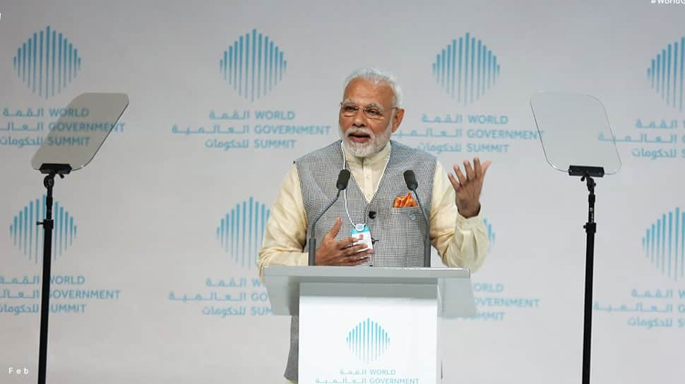 Dream of 'new India' will be achieved by empowering youth with technology, says PM Modi in Dubai