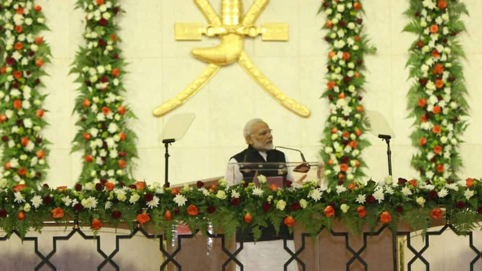 PM promotes 'Modicare' among Indian diaspora in Oman