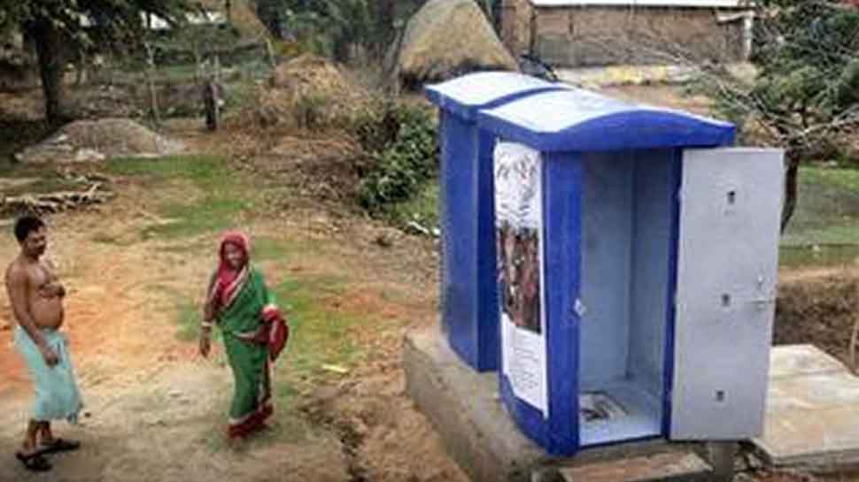 Woman constructs toilet in Bihar by begging