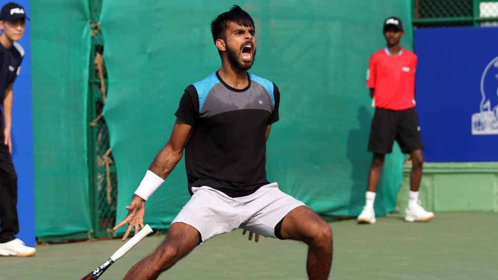 Antoine Escoffier sends 5th-seed Sumil Nagal packing in Chennai Open