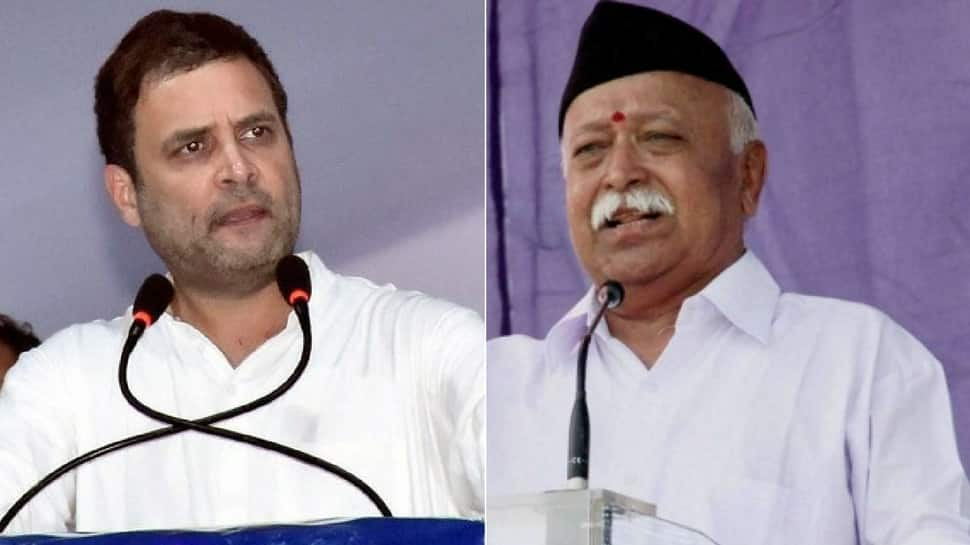 Mohan Bhagwat must apologise for insulting jawans: Rahul Gandhi keeps up the pressure on RSS chief
