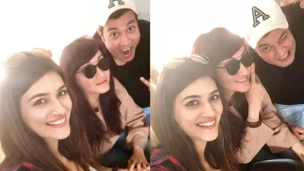 Kriti Sanon begins Arjun Patiala shoot