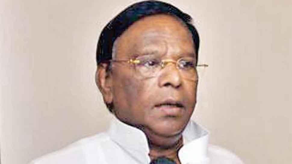 PM Narendra Modi giving 'halwa' to Puducherry not enough funds, claims CM Narayanasamy