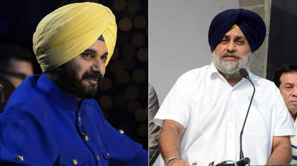 Navjot Singh Sidhu is like a monkey, says Sukhbir Singh Badal in attack over 'Virasat-e-Khalsa'