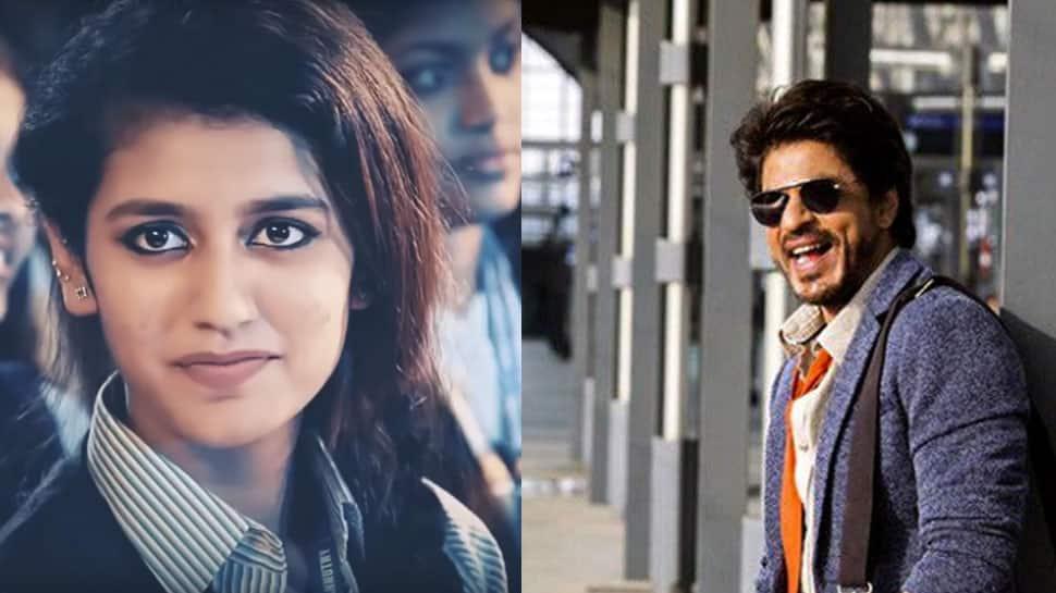 Priya Prakash Varrier is a Shah Rukh Khan fan; working with Ranveer Singh is on her wishlist