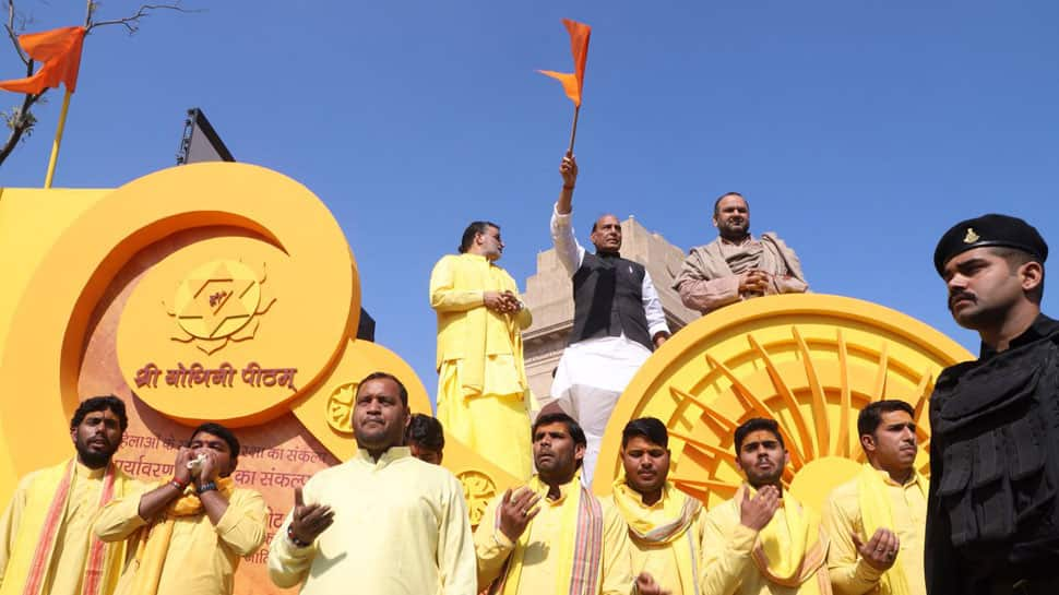 BJP flags off Mission 2019, launches Rath yatra to collect 'jal', 'mitti' from religious places