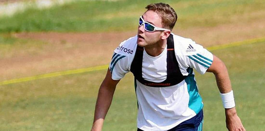 Close to a Test milestone, Stuart Broad works on bowling action