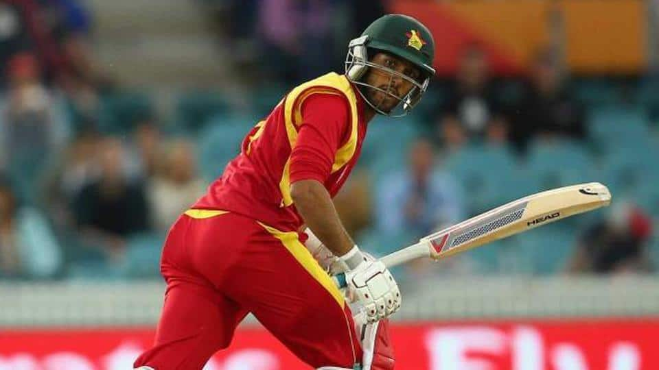 Zimbabwe's Sikandar Raza fined for showing dissent