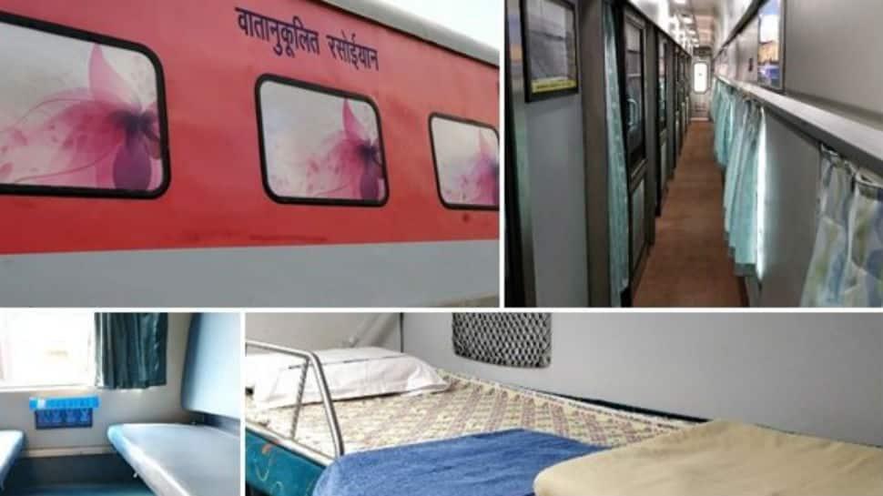 Mumbai-Delhi Rajdhani train gets a makeover under Indian Railways Operation Swarn