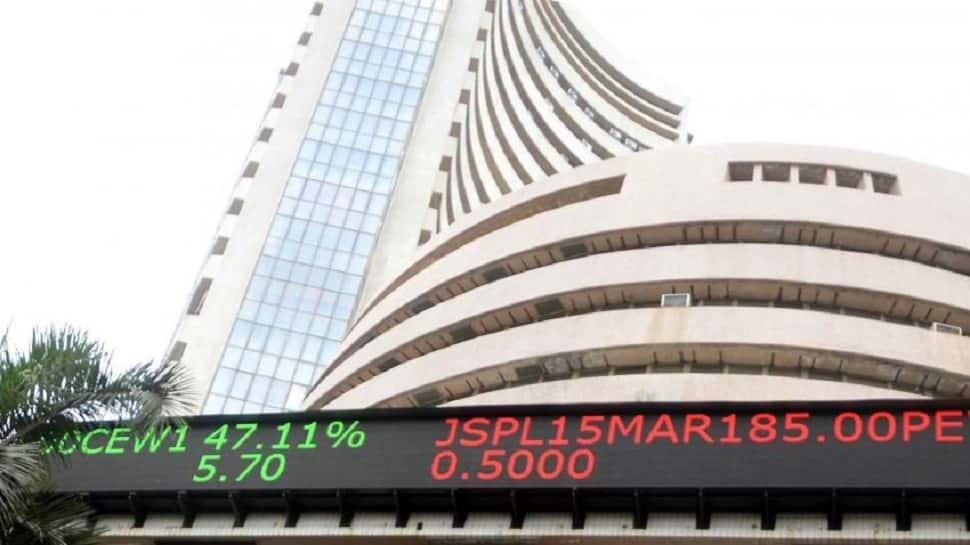 Sensex ends around 34,300 mark; Nifty near 10,550
