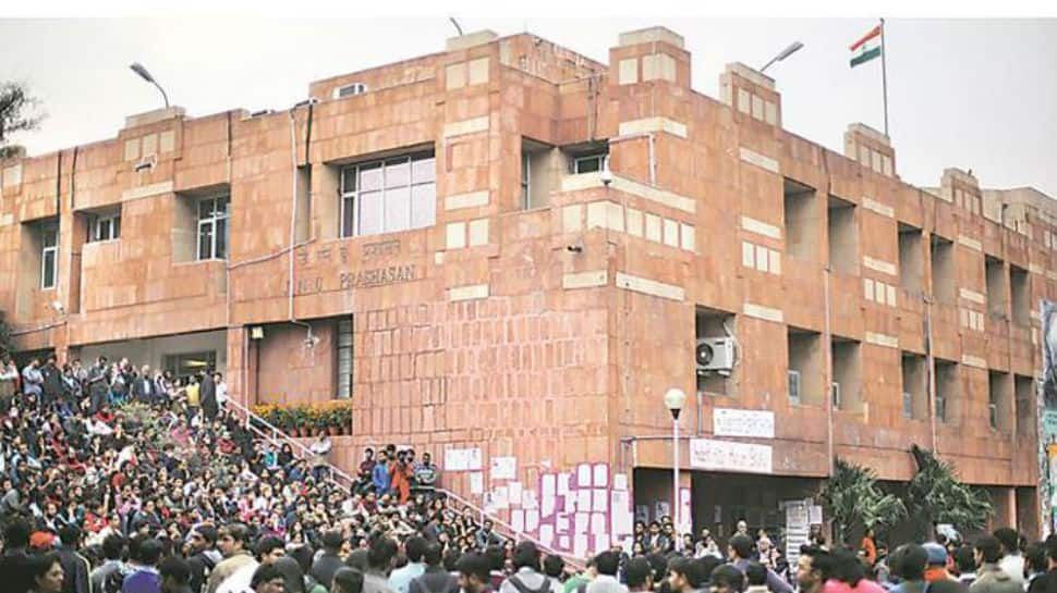 JNU admission row: Students vacate administrative block but refuse to end protest