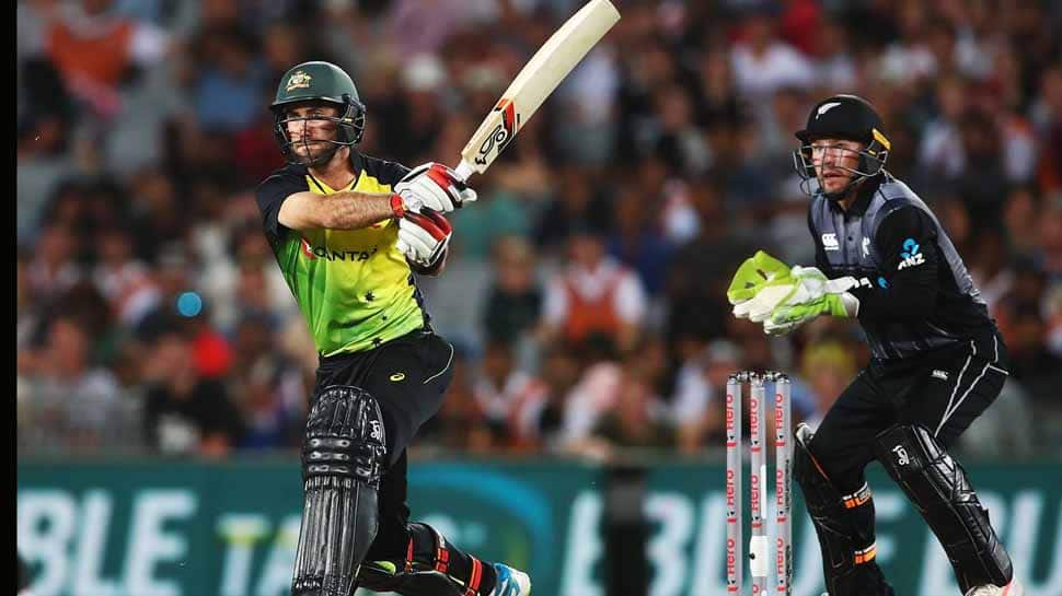 Australia chase down a record 244 to stun New Zealand in T20 tri-series