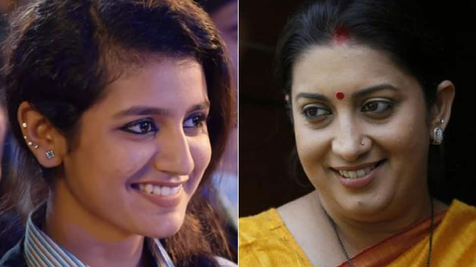 Now, Raza Academy asks Smriti Irani to ban song that made Priya Prakash Varrier a viral sensation