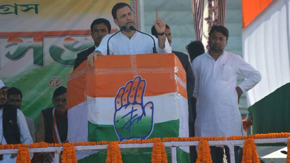 Tripura polls: Congress doesn't make false promises like BJP, says Rahul Gandhi