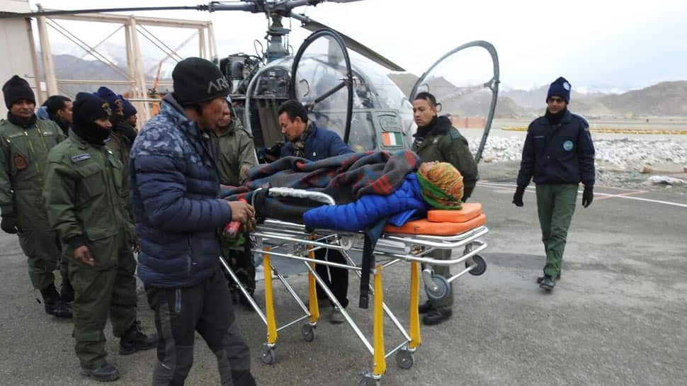 IAF rescues pregnant woman with unique condition from a remote village in Ladakh