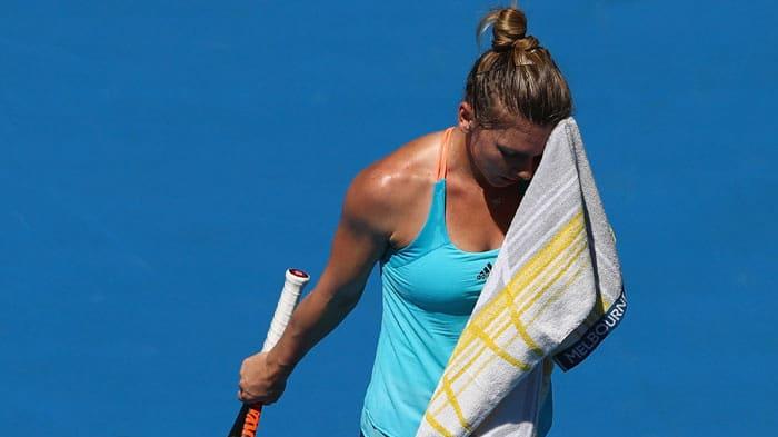 Injured Simona Halep withdraws from Qatar Open