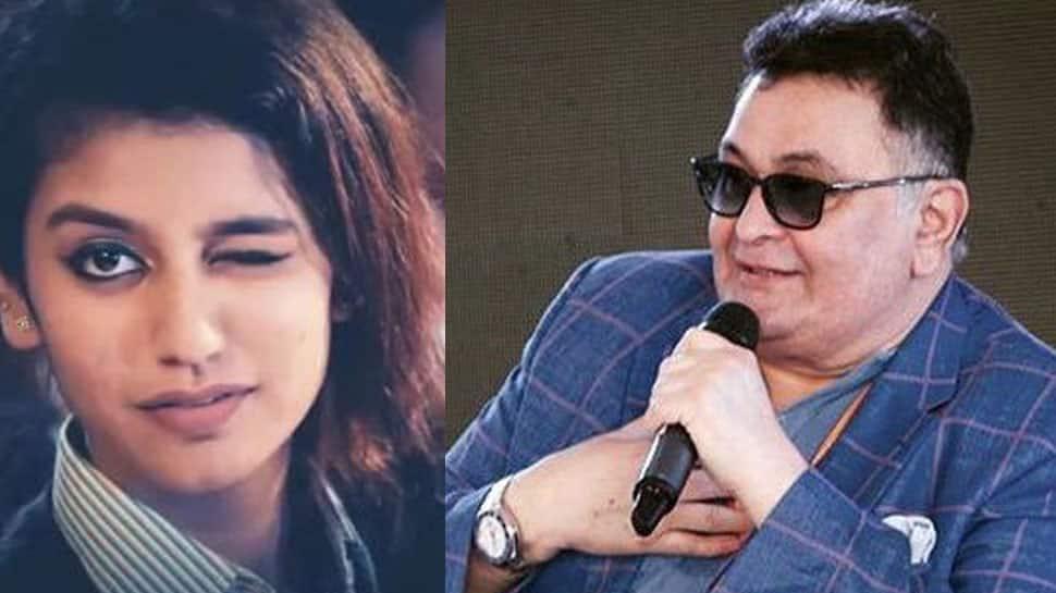Priya Prakash Varrier finds a fan in Rishi Kapoor- Deets inside