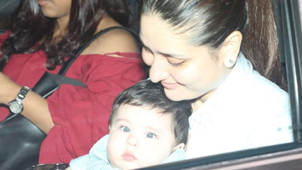 Have you seen these latest Taimur Ali Khan pics with super fit mommy Kareena?