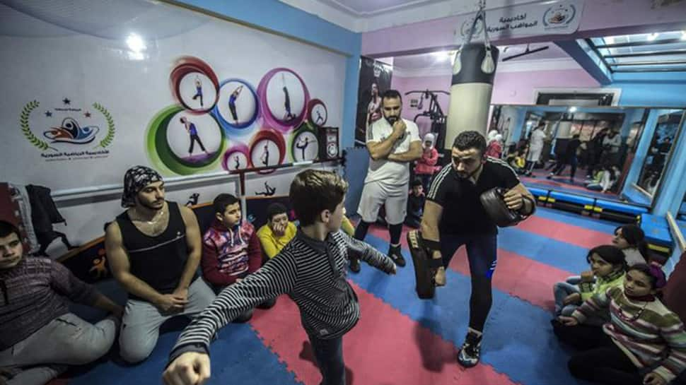 In Egypt, sports academy gives Syrian children platform to rise