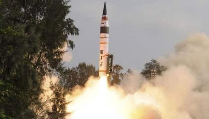 India test fires Agni II missile off Odisha coast