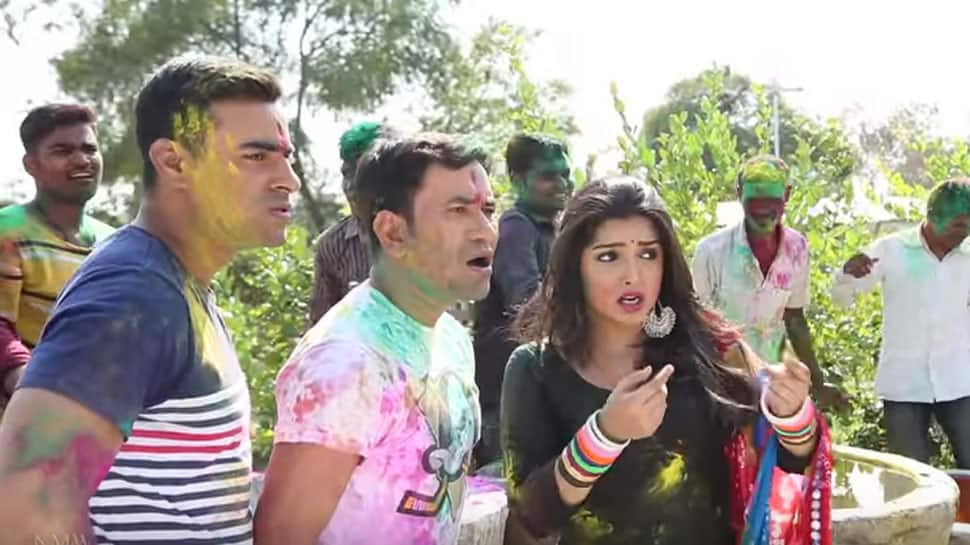 Holi Mein GST Jor Ke: Nirahua aka Dinesh Lal Yadav's viral Bhojpuri song with Amrapali Dubey crosses 4 mn views on YouTube