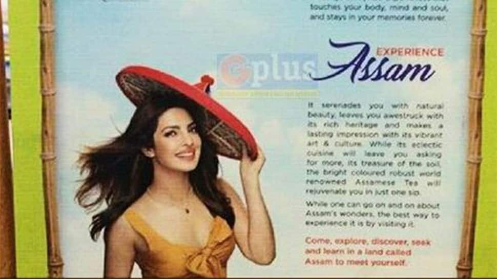 Too 'revealing': Priyanka Chopra's picture in Assam Tourism sparks controversy
