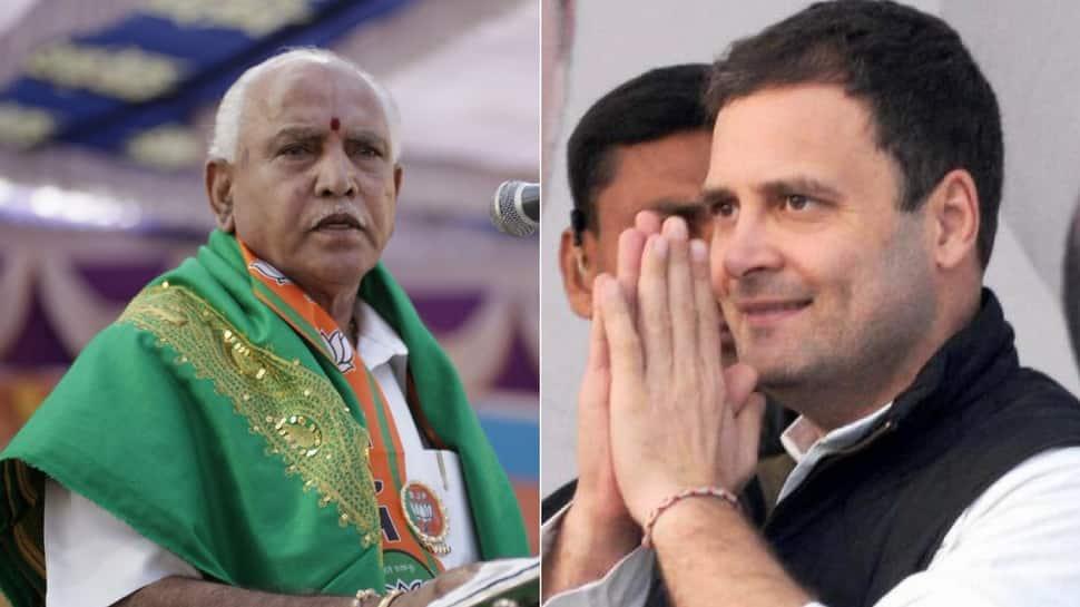 Karnataka slugfest: BJP leader Yeddyurappa flays Rahul Gandhi
