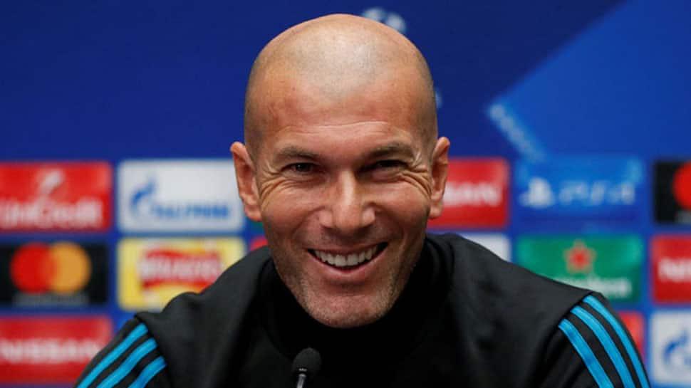 I want to stay with Real Madrid, says Zinedine Zidane