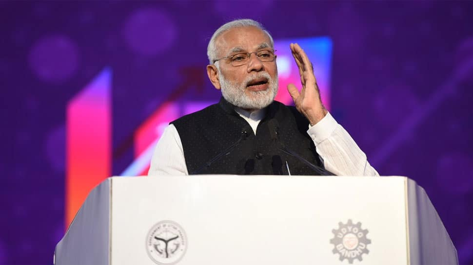 UP Investors Summit: PM Modi announces Rs 20,000 crore defence corridor for Bundelkhand