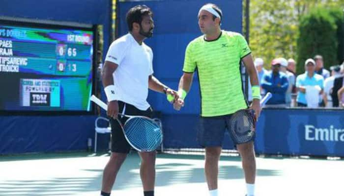 Leander Paes, Purav Raja suffer first-round exit at Delray Beach Open
