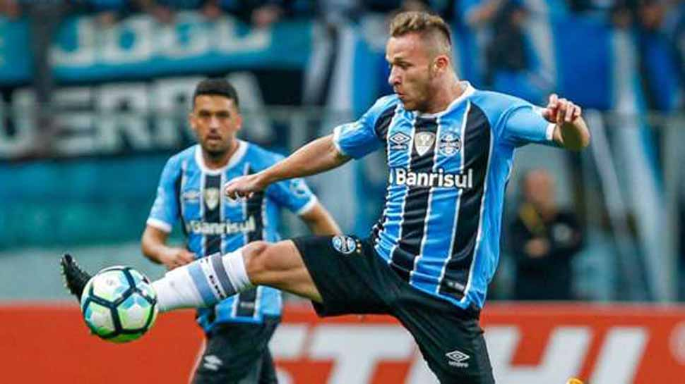 Barcelona agree deal for Gremio's Arthur: Reports