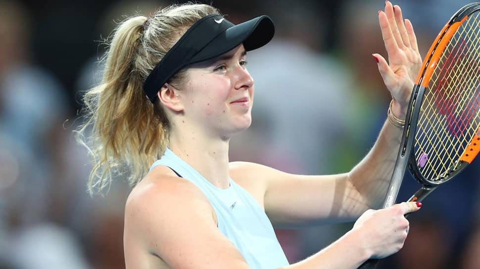 Tennis: Elina Svitolina labours as former number ones book Dubai clash