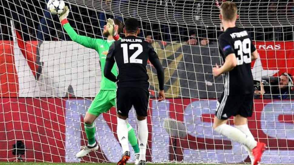 Champions League: As David de Gea thwarts raging Sevilla, Manchester United settle for 0-0 draw