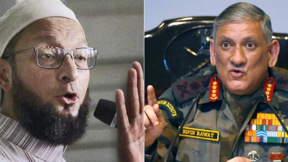 Don't interfere in political matters: Owaisi tells Army chief over comment on rise of AIUDF