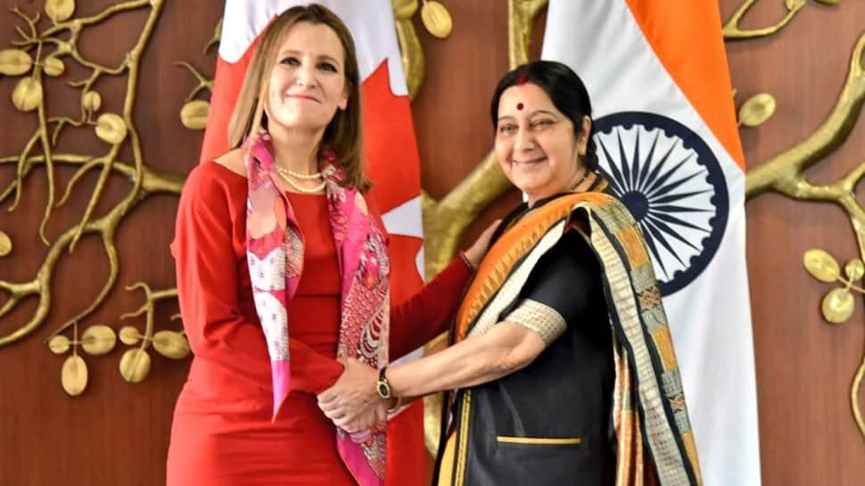 India, Canada FMs discuss issues of bilateral interests