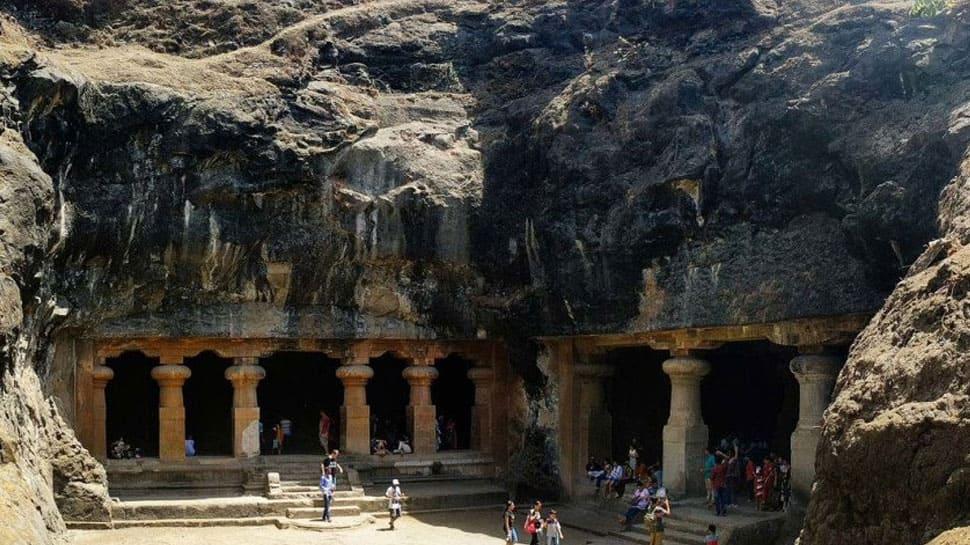 Image result for Elephanta Caves (Mumbai)