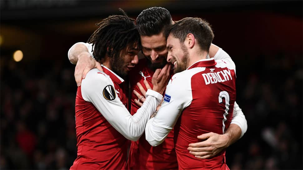 Europa League: Arsenal slump at Ostersunds but move to last-16 on aggregate