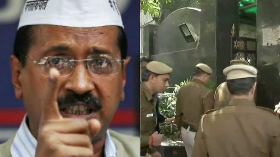 'Assault' on Chief Secretary: Police at CM Kejriwal's residence to examine CCTV footage