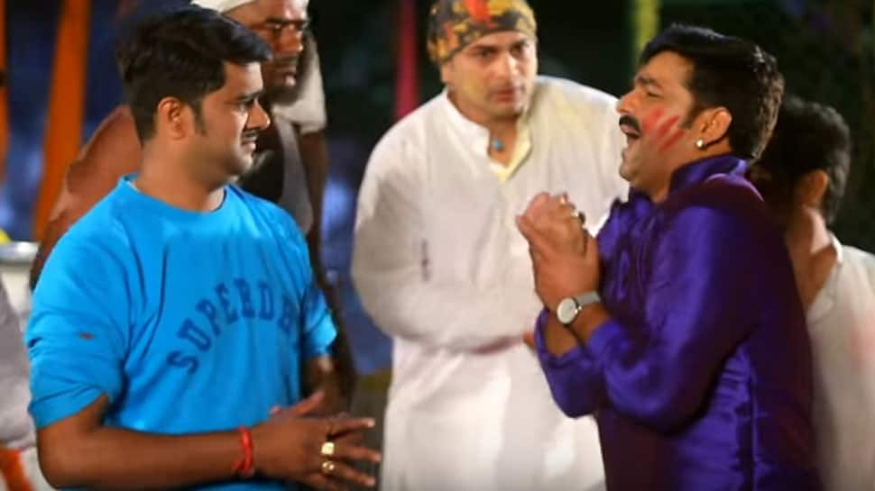 Bhojpuri singer Pawan Singh's latest Holi song 'Bhai Sange Bhagal' will pep up your track list—Watch