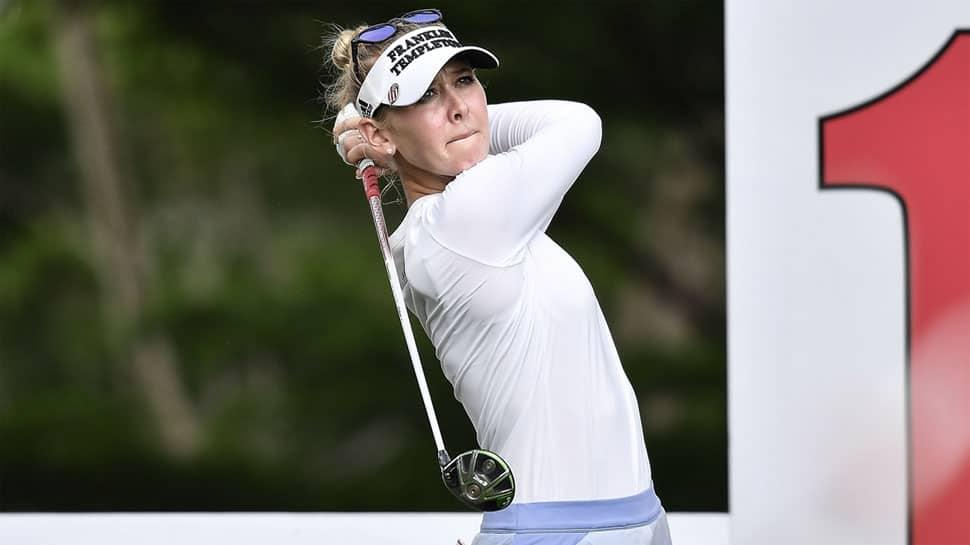 LPGA: American Jessica Korda breaks course record, in four-stroke lead with 10-under