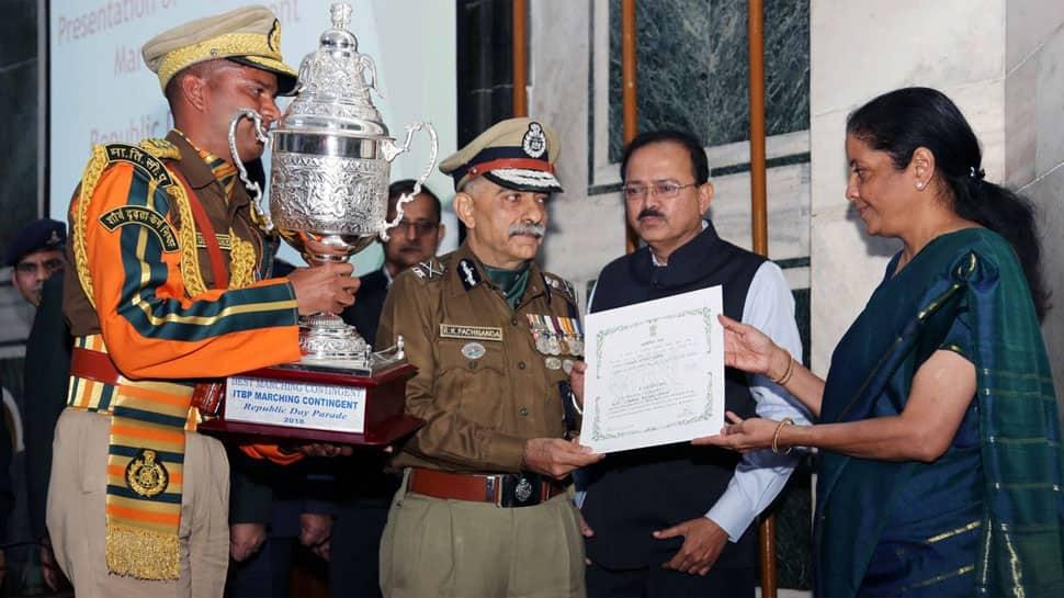 ITBP, Punjab Regiment bag Republic Day parade best marching trophies