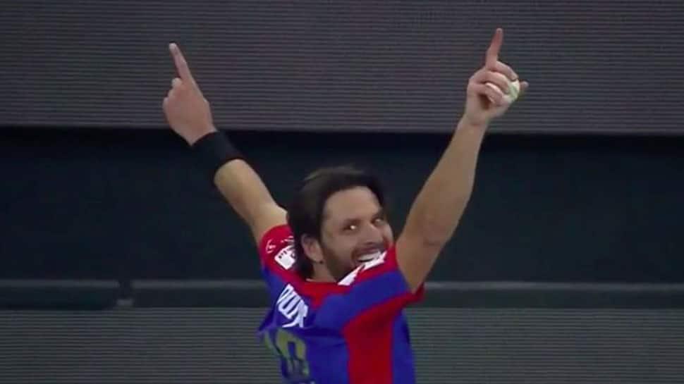 Watch: Shahid Afridi's stunning catch lights up Pakistan Super League in Dubai