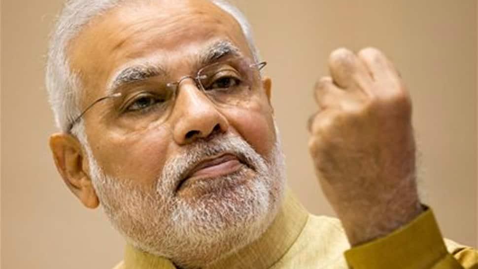 PM Narendra Modi visits Aurobindo Ashram in Puducherry