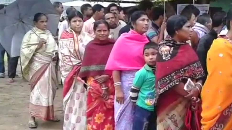 Repolling underway in 6 Assembly constituencies in Tripura, 37% voter turnout recorded till 11 am