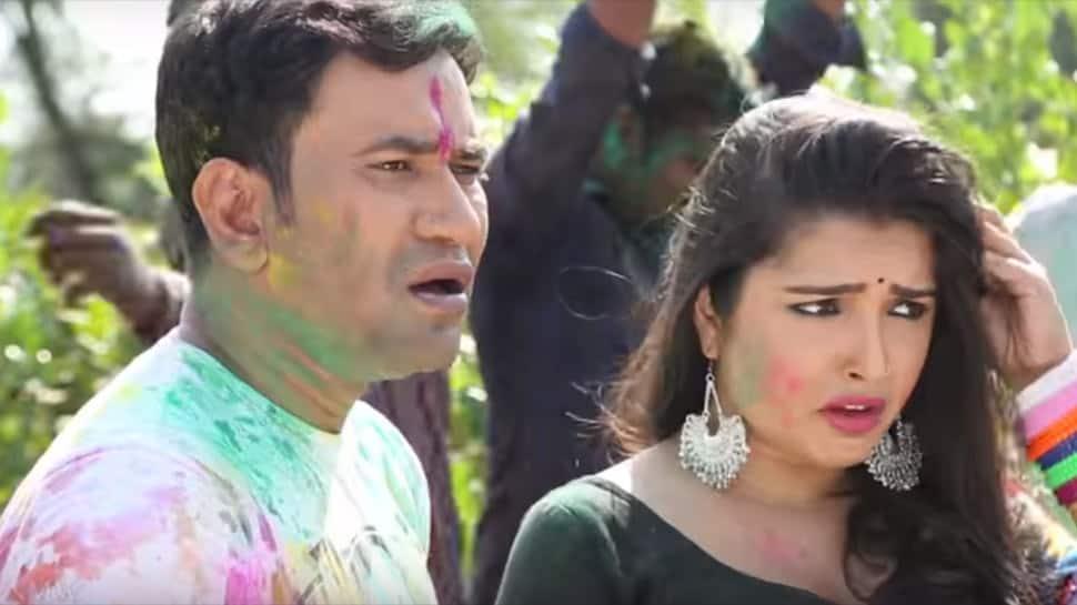 Holi Mein GST Jor Ke: Nirahua and Amrapali's Bhojpuri song crosses 11 million views on YouTube