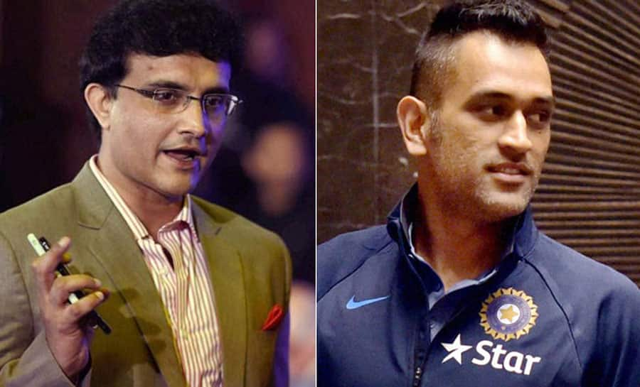 Wish I had MS Dhoni in my 2003 World Cup team: Sourav Ganguly