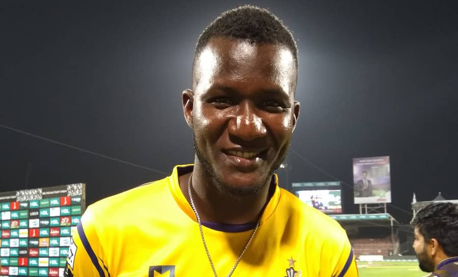 Watch: Darren Sammy blitzkrieg despite injured front-foot to hand Peshawar Zalmi important win in PSL